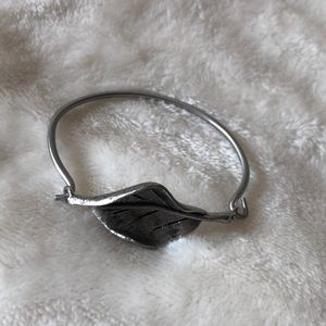 Anthropologie silver bracelet